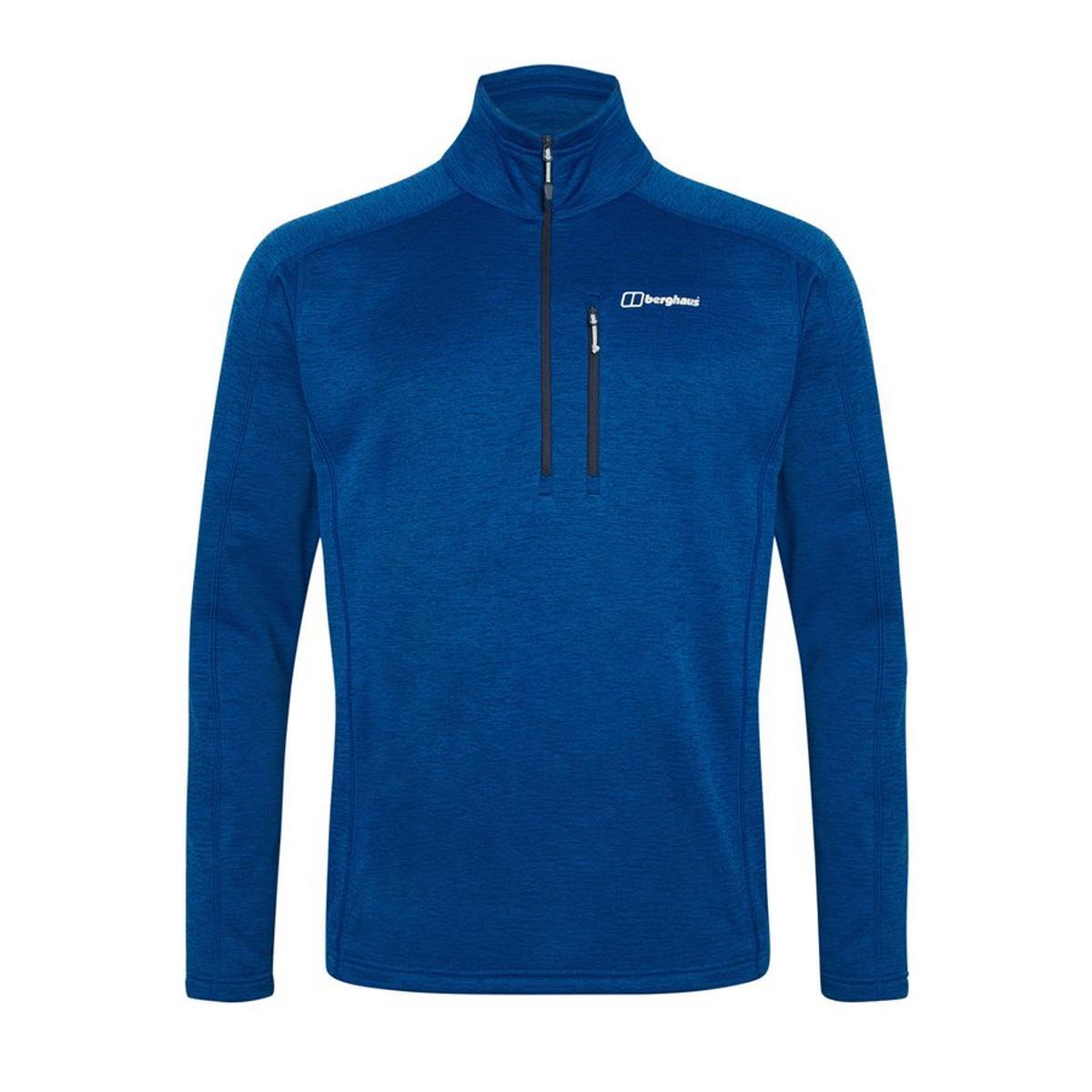 Berghaus Men's Spitzer Half Zip - Blue