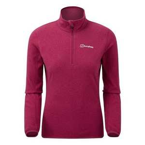 Women's Hendra Half Zip Fleece - Beet Red