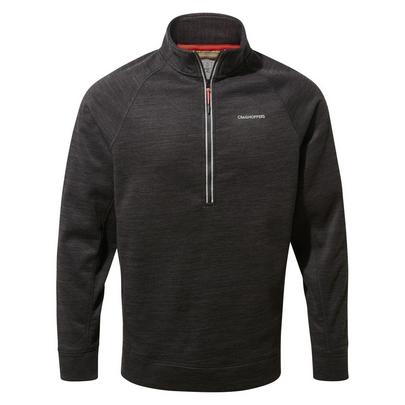 Craghoppers Men's Stromer Half Zip Fleece - Black