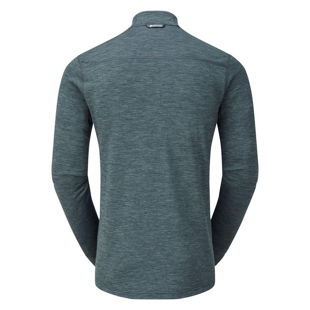 Montane Men's Protium Pull-On Fleece - Astro Blue
