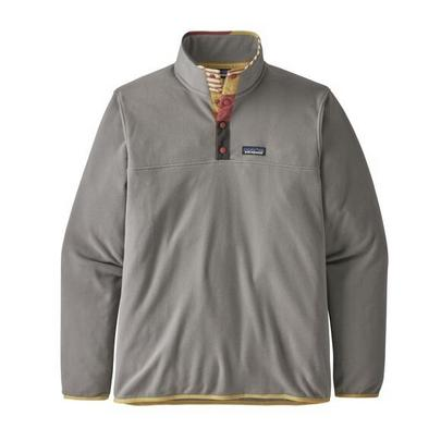 Patagonia Men's Micro D Snap-T Fleece Pullover - Grey