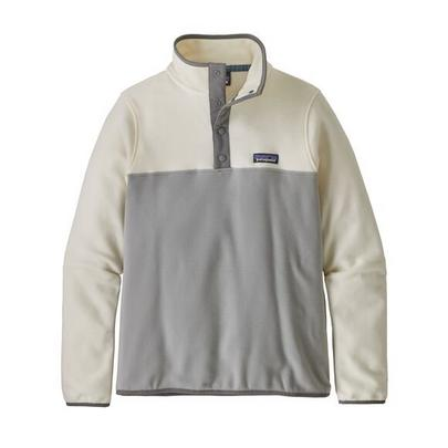 Patagonia Women's Micro D Snap-T Pullover - Grey