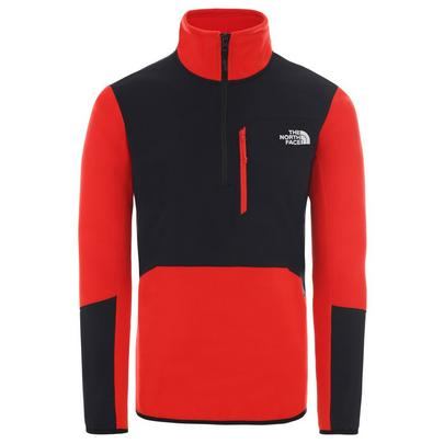 The North Face Men's Glacier Pro 1/4 Zip Fleece - Red