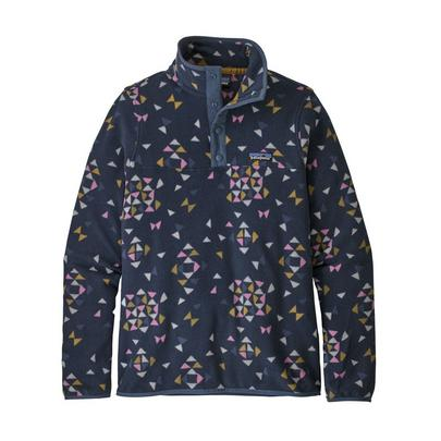 Patagonia Women's Micro D Snap-T Pullover - Navy