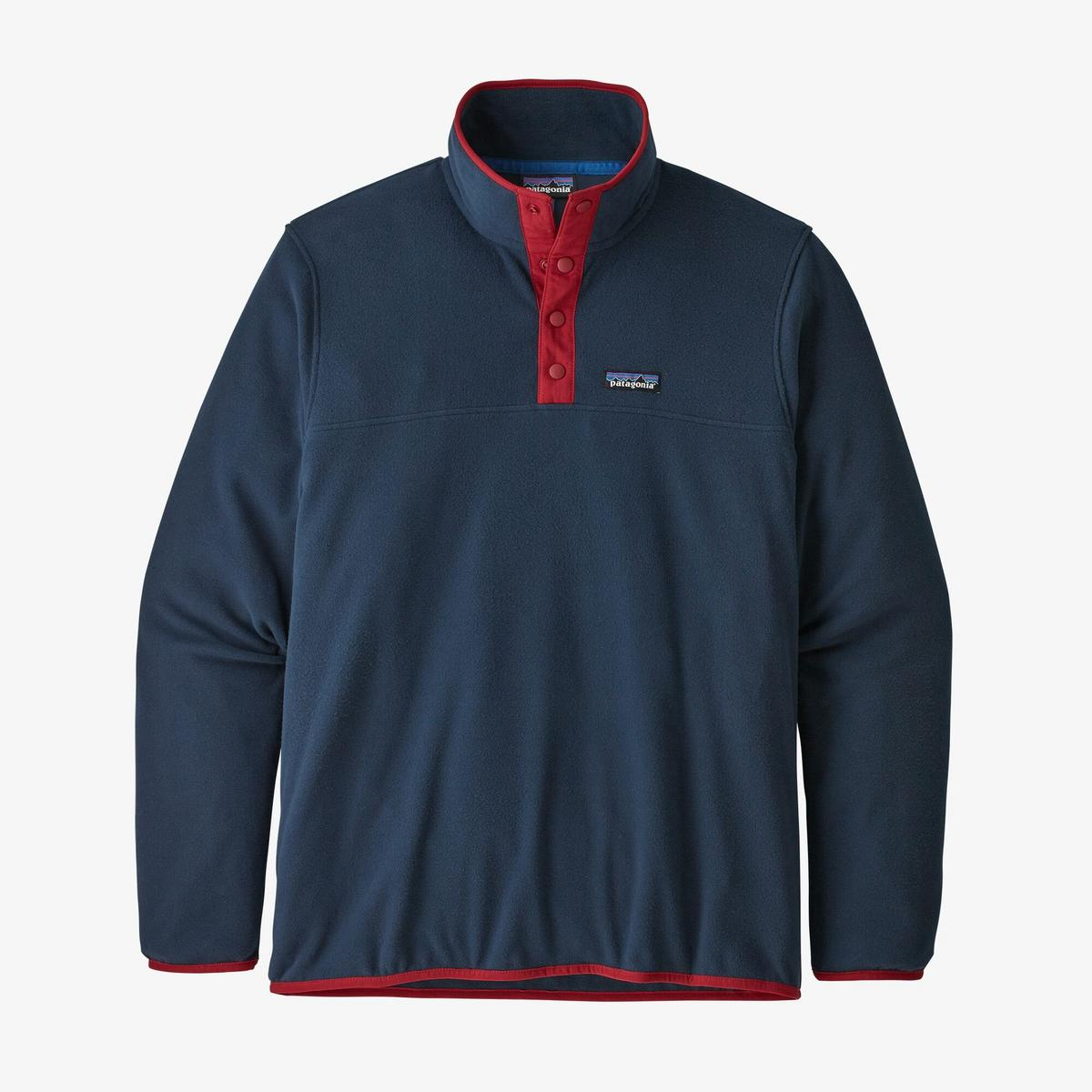 Patagonia Men's Micro D Snap T Pullover - Navy