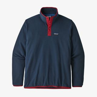 Men's Micro D Snap T Pullover - Navy