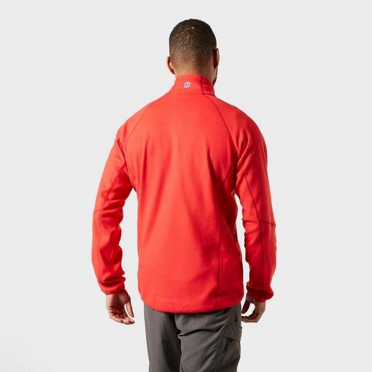 Berghaus Men's Kedron Half Zip Fleece - Haute Red