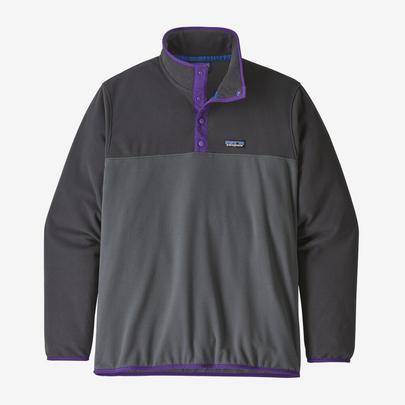 Patagonia Men's Micro D Snap-T Pullover - Grey