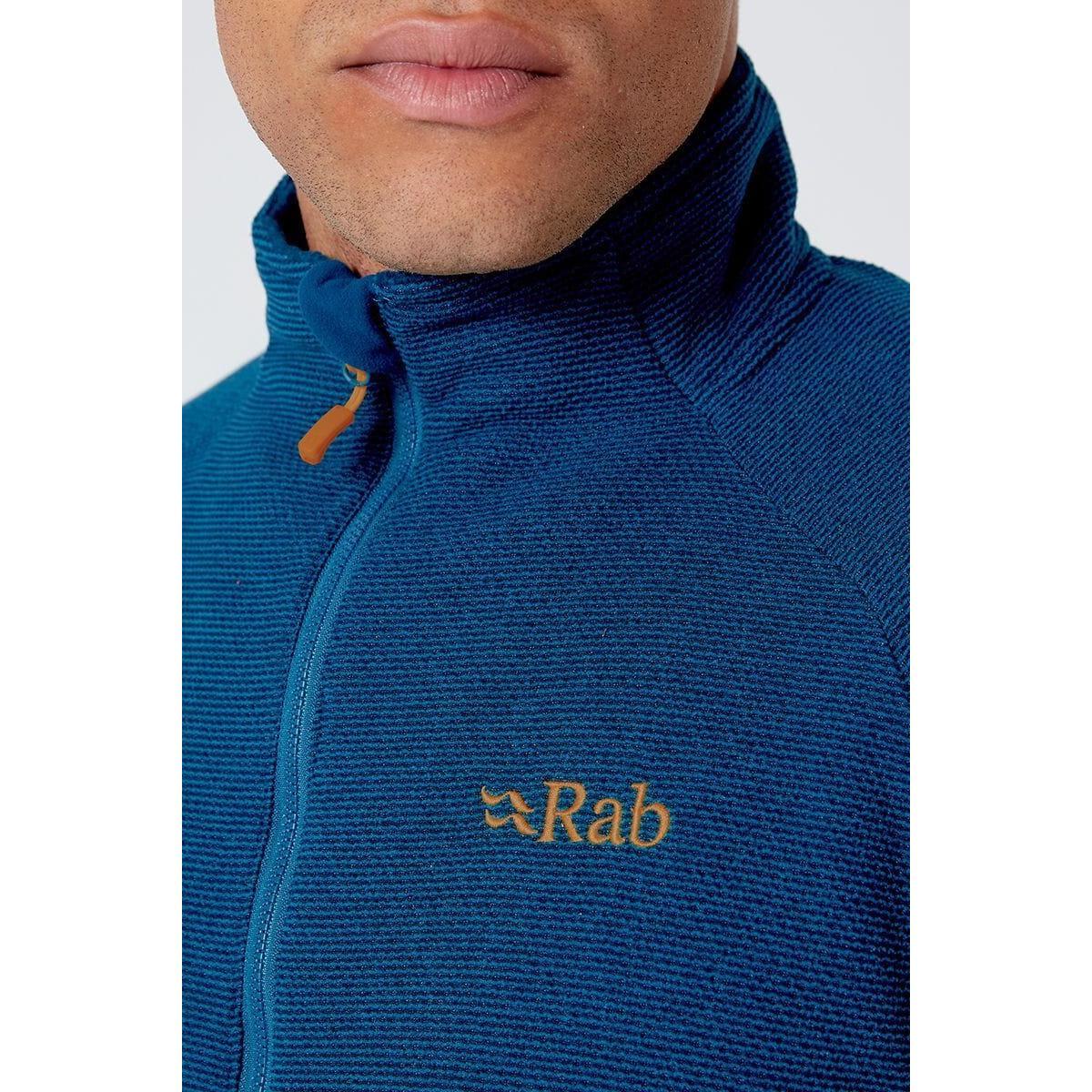 Rab Men's Rab Capacitor Pull On Fleece - Navy