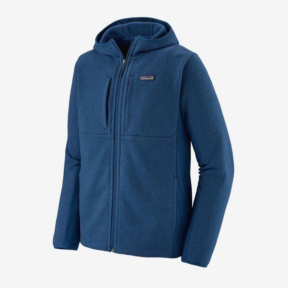 Patagonia Men's Patagonia Lightweight Better Sweater Hoody - Blue