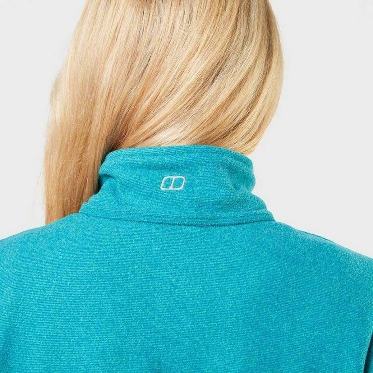 Berghaus Women's Hendra Half Zip Fleece - Green