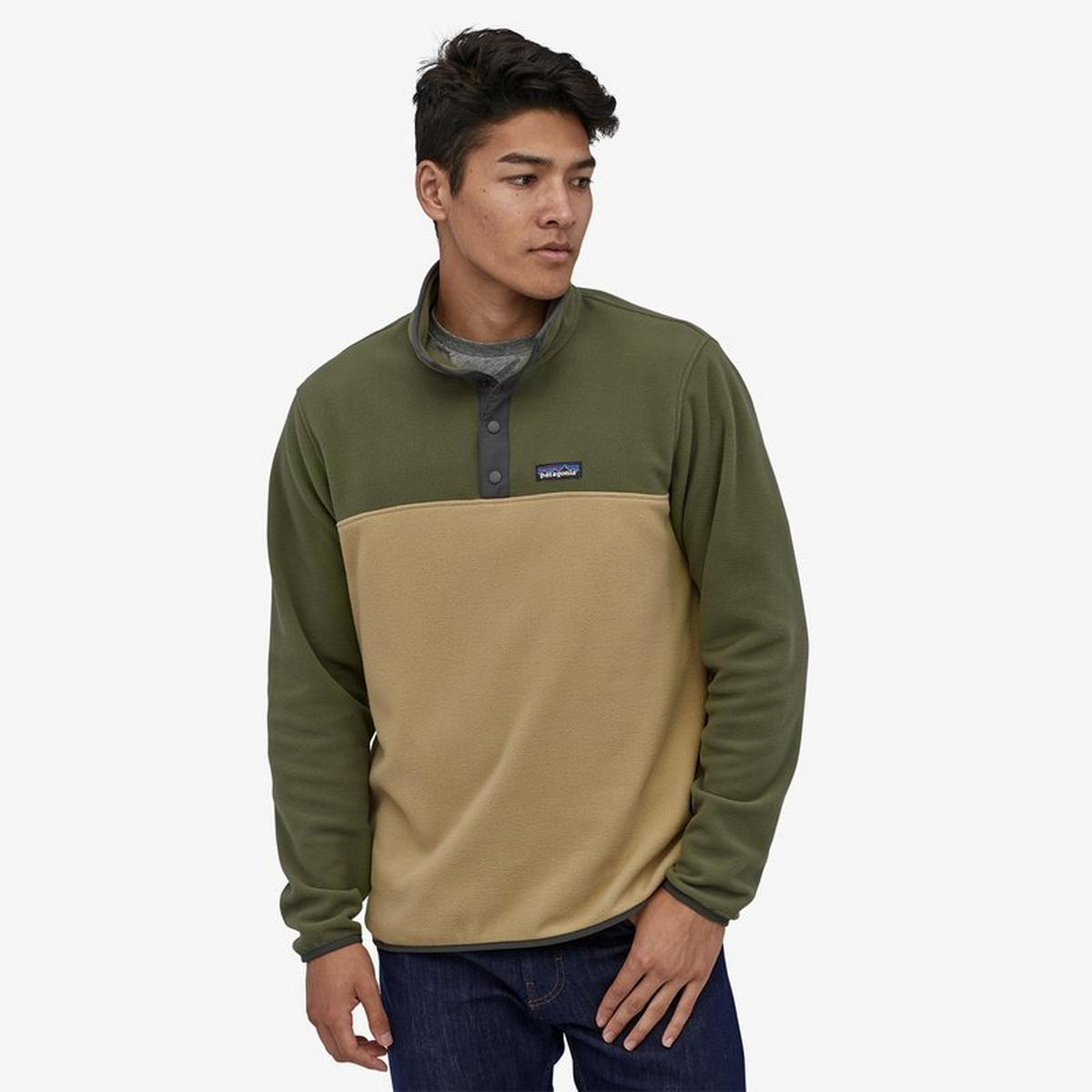 Patagonia Men's Micro D Snap T Pullover - Green