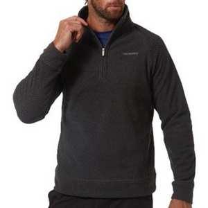 Men's Cacroft Half-Zip - Dark Grey