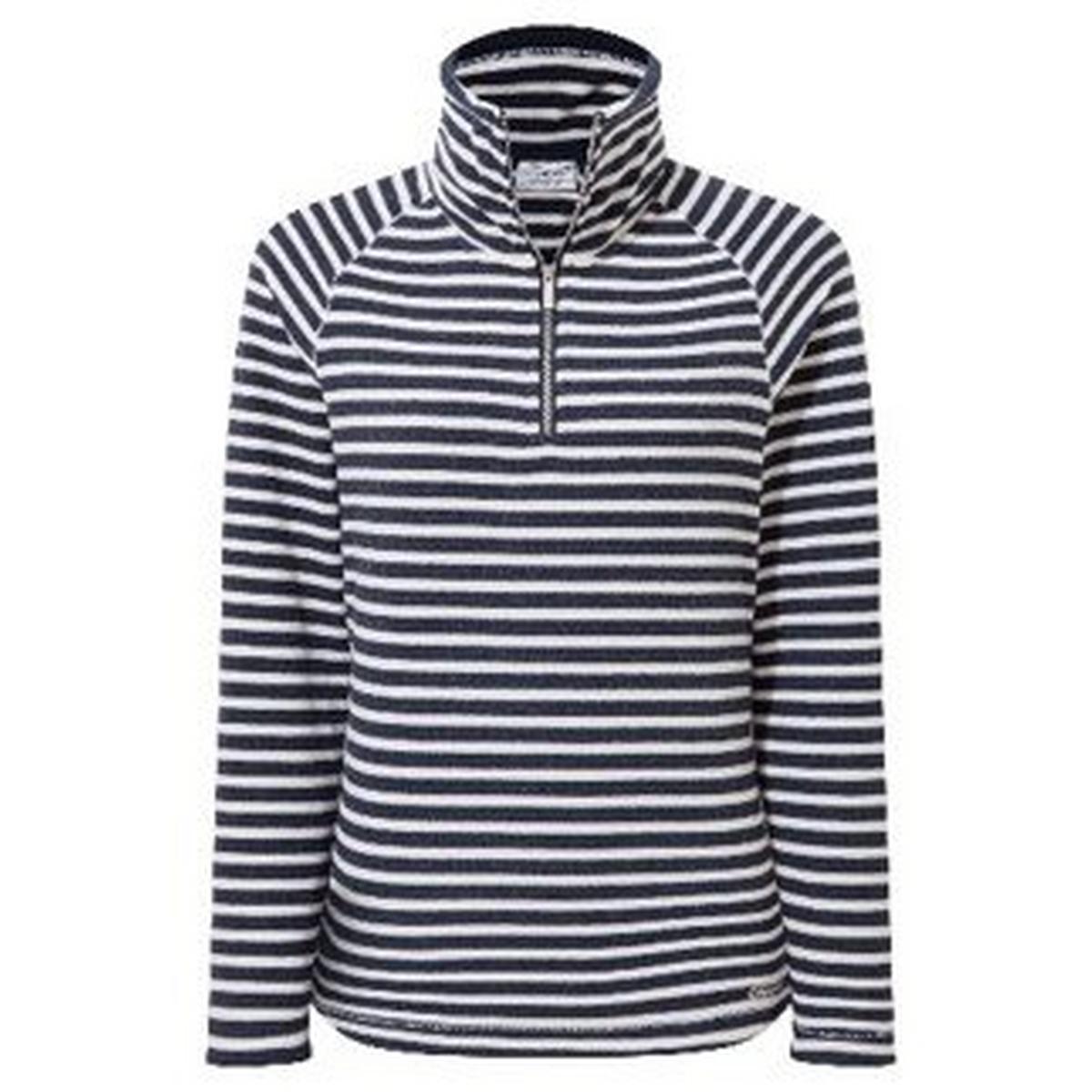 Craghoppers Women's Canby Half-Zip - Blue Navy Stripe