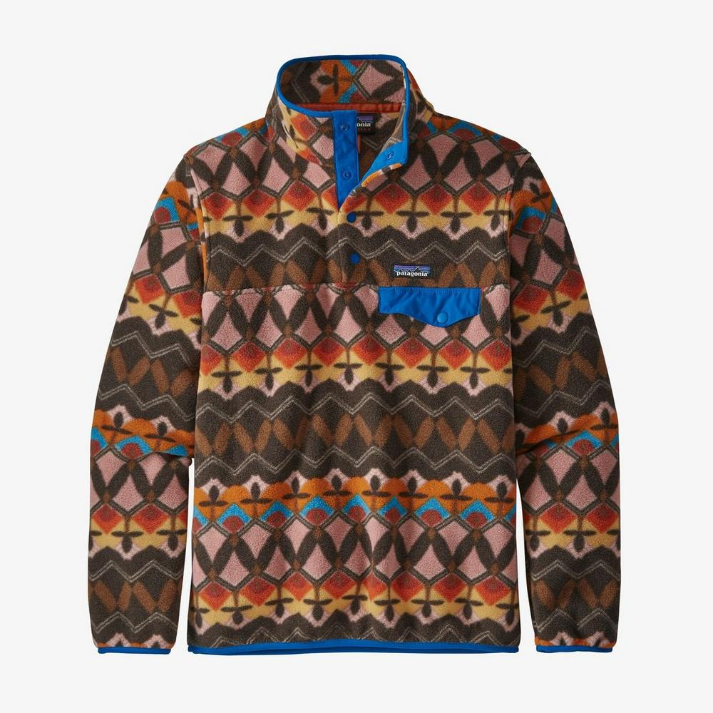 Patagonia Synchilla Snap-T Fleece Pullover | Companions Big Anthos Pink