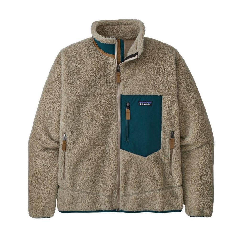 Patagonia Men's Classic Retro-X Jacket - Pelican Borealis Green