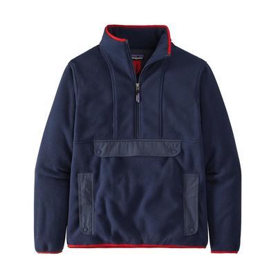 Patagonia Synchilla Fleece Anorak - New Navy / Smolder Blue