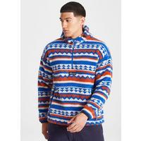 Men's Tyrell Hooded Half-Zip - Blue