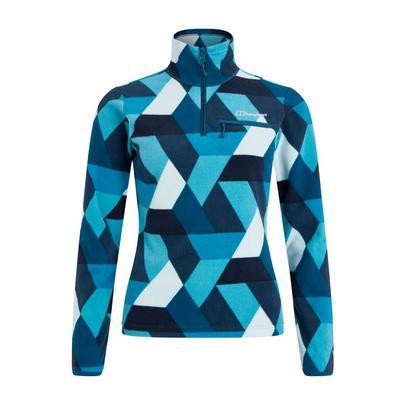 Berghaus Women's Navala Half Zip Fleece - Blue
