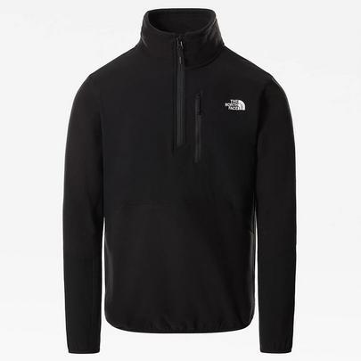 The North Face Men's Glacier Pro Quarter-Zip Fleece - Black