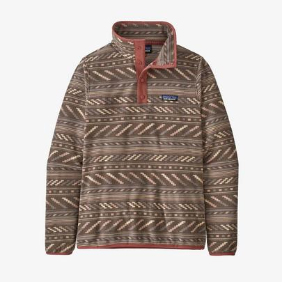 Patagonia Women's Micro D™ Snap-T® Fleece Pullover - Taupe