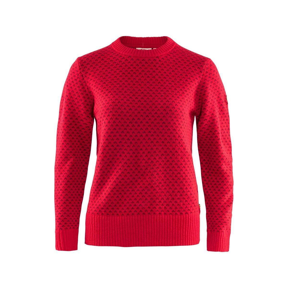 Fjallraven Women's Ovik Sweater - Red