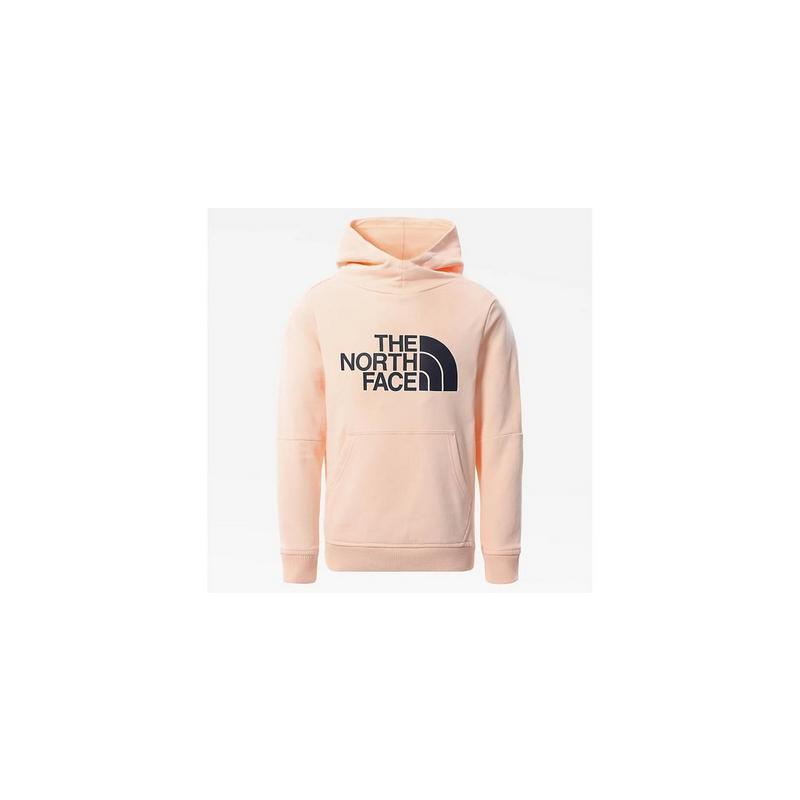 Girls Drew Peak Hoodie - Pink