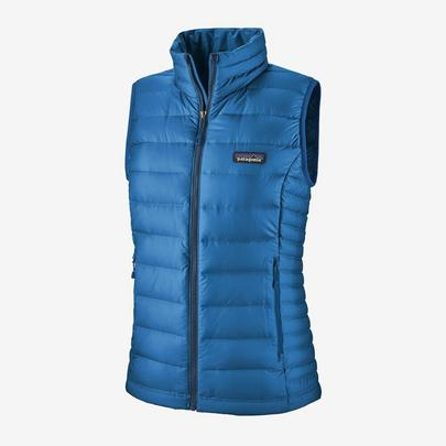 Patagonia Women's Down Sweater Vest - Blue