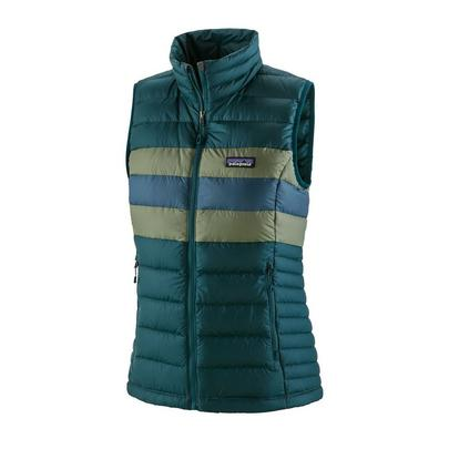 Patagonia Women's Down Sweater Vest - Dark Borealis Green