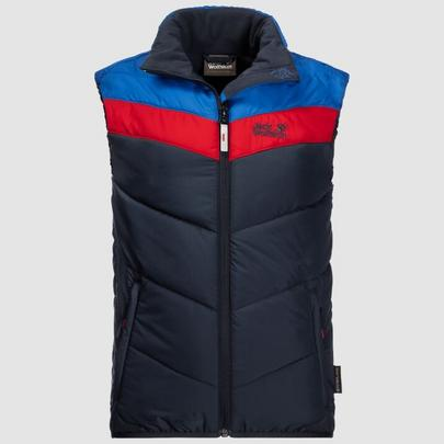 Jack Wolfskin Kids Three Hills Vest - Night Blue