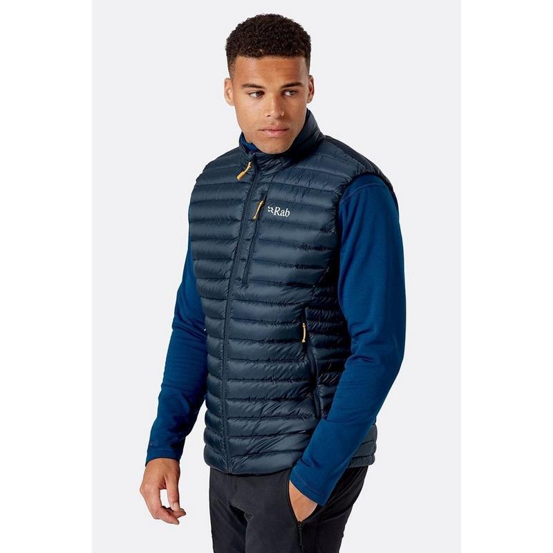Men's Rab Microlight Vest - Grey