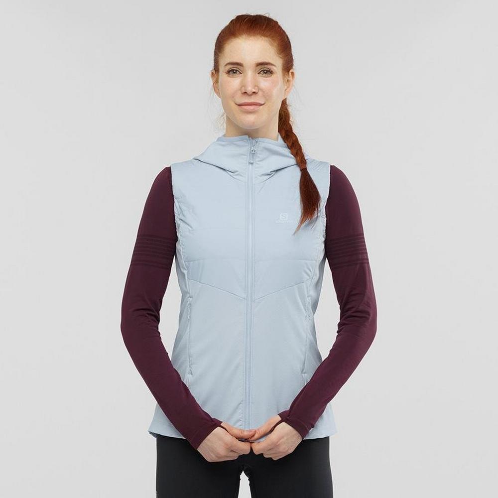 Salomon Women's Salomon Outspeed Insulated Vest - Blue