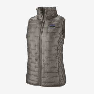 Women's Micro Puff Vest - Feather Grey