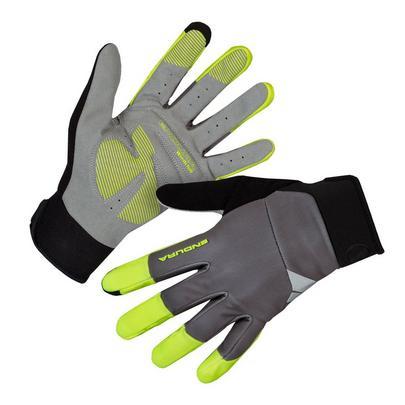 Endura Men's Windchill Glove - Hi Viz Yellow