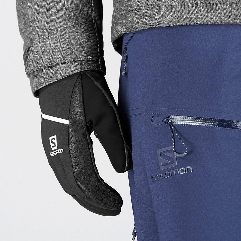 Salomon SKI Gloves Men's Propeller One Black/Black