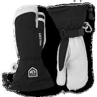 Men's Army Leather Heli Ski 3-Finger - Black