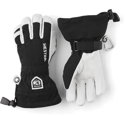 Hestra Junior Army Leather Heli Ski Glove - Black