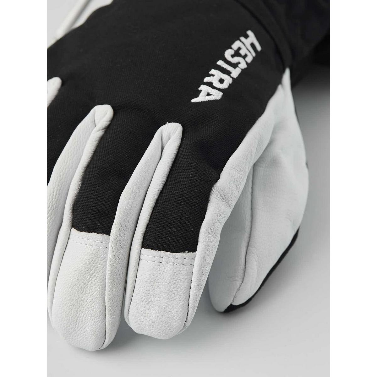 Hestra Junior Army Leather Heli Ski Glove - Black