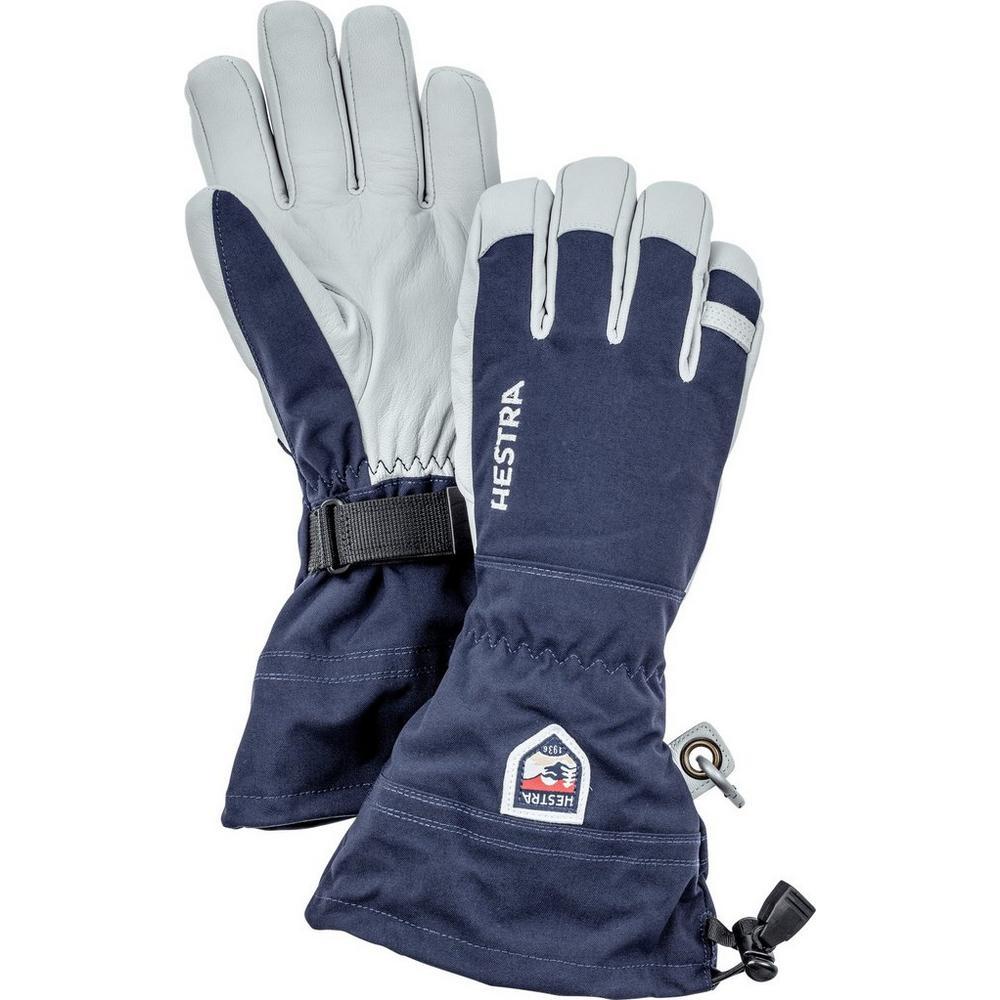 Hestra Men's Army Leather Heli Ski Glove - Navy