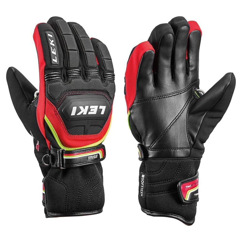 Leki Junior WC Race Coach Flex Glove - Red/Black