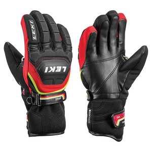 Junior WC Race Coach Flex Glove - Red/Black