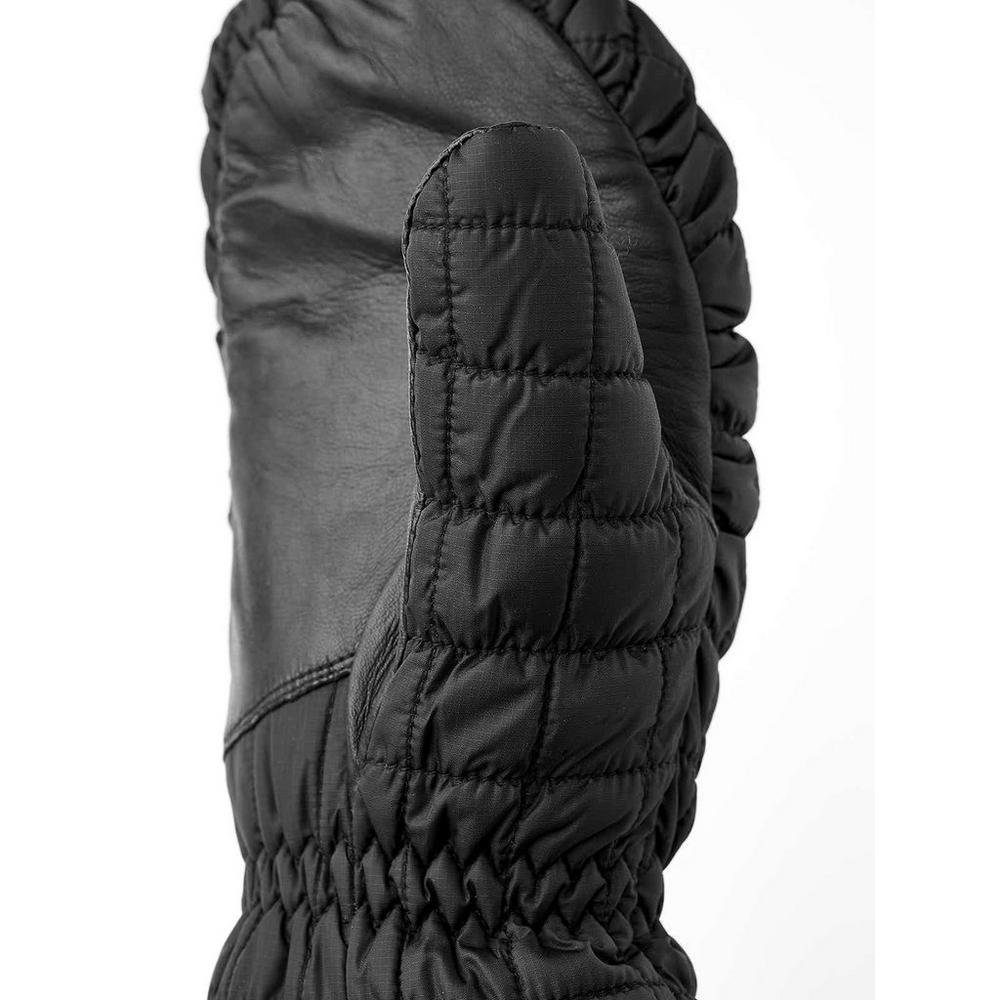 Hestra Gloves Unisex Moon Light Primaloft Mitts Black