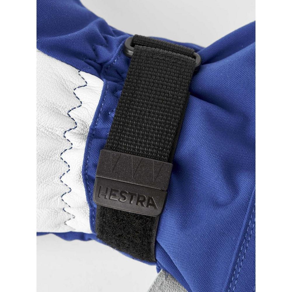 Hestra Men's Army Heli Ski 3-Finger Gloves - Blue