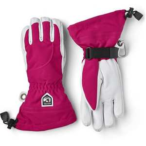 Women's Heli Ski Glove - Fuchsia Off White