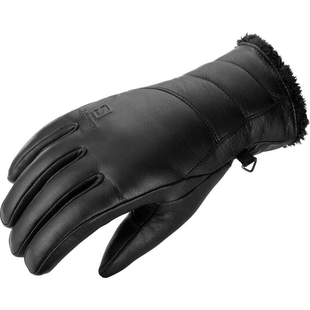 Salomon Ski Gloves Women's Native Black