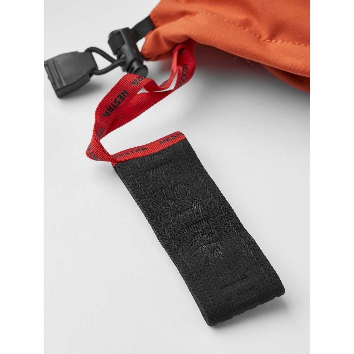 Hestra Men's Army Leather Heli Ski Glove - Brick Red