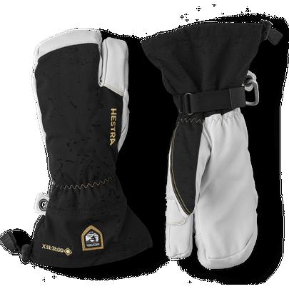 Hestra Men's Army Leather GTX 3-Finger Glove - Black