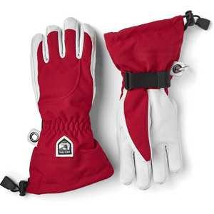 Women's Heli Ski Glove - Red/Off White