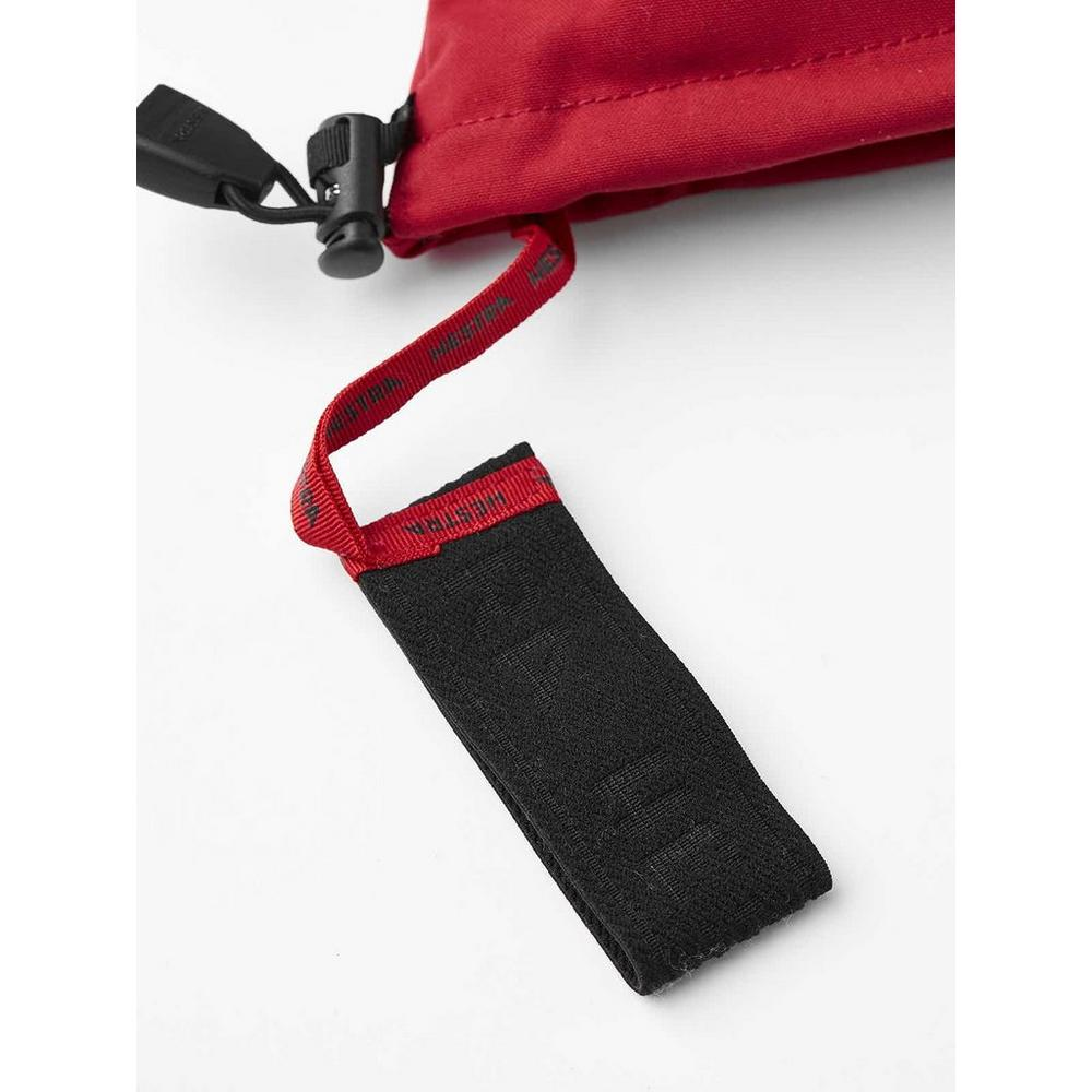 Hestra Women's Heli Ski Glove - Red/Off White