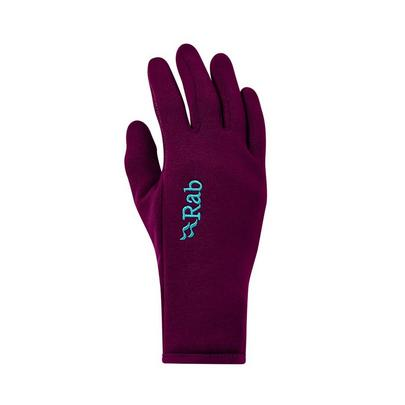 Rab Women's Power Stretch Contact Gloves - Purple